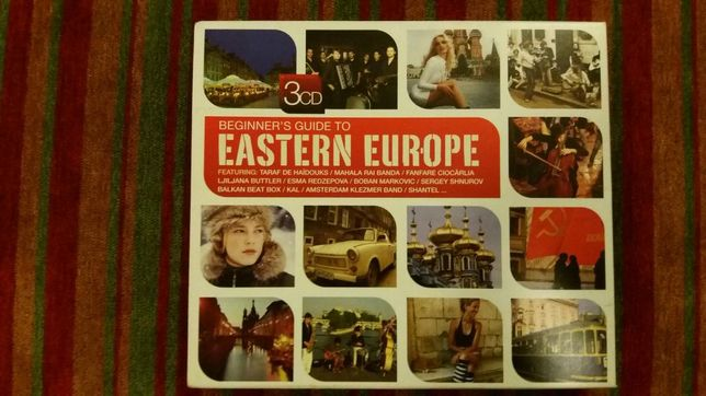 Musica de Leste (Eastern Europe Music 3cds box)