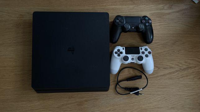 Playstation 4 Slim PS4 2 pady gry 500Gb