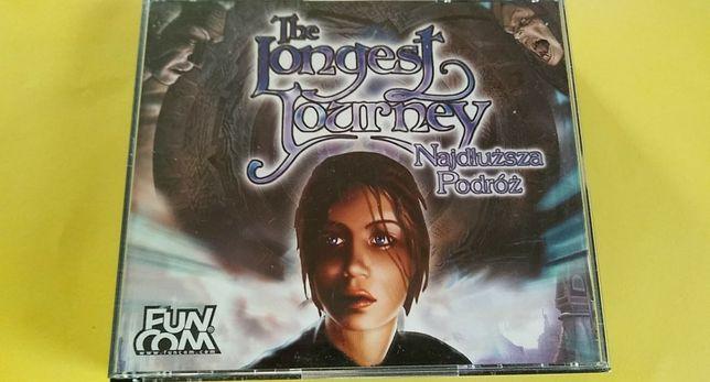 The Longest Journey - GRA PC - Najdłuższa Podróż CD-BOX , 2000 rok
