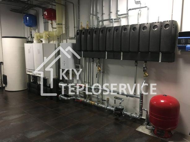 Монтаж котельной под ключ: газовых, твёрдотопливных, электрических