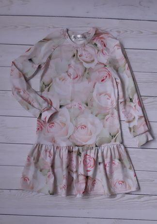 Дитяче плаття в троянди
