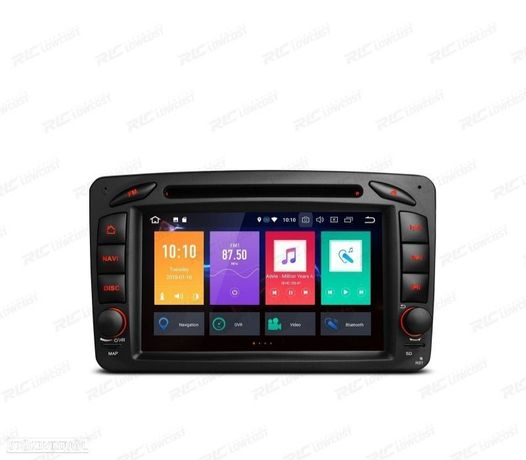 AUTO RADIO GPS MERCEDES BENZ CLASE A C E G VITO Y VIANO ANDROID 9.0 4GB RAM 64ROM E CARPLAY