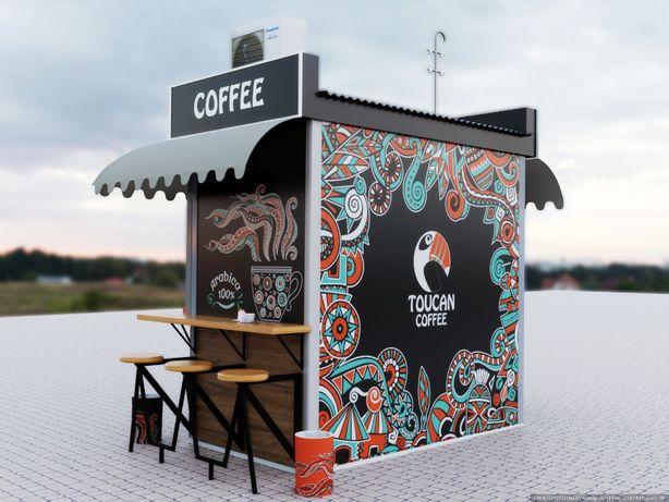Дизайн МАФа, кав'ярні, ресторана, літнього майданчика кафе