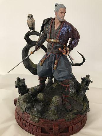 Witcher Figura em resina Geralt Ronin numerada CD Projekt
