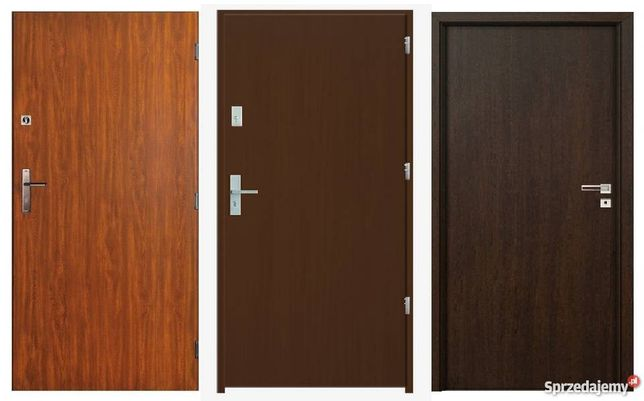 Zewnętrzne drzwi, wejściowe do mieszkania z Montażem i gwarancją!