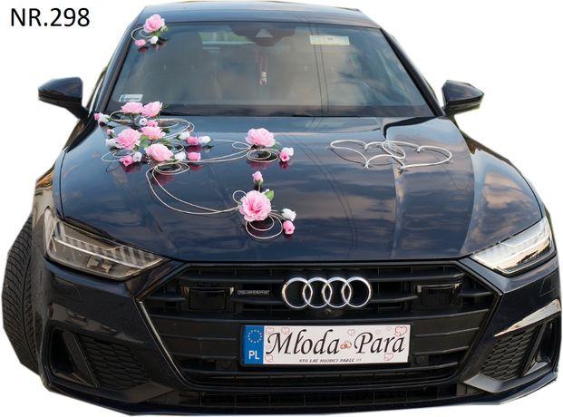 Dekoracja na samochód w super cenie NOWA.ozdoby na auto-stroiki
