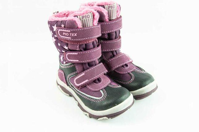 Buty Pio Tex Botki Śniegowce r.27 Używane