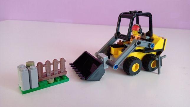 Klocki LEGO City 60219 koparka zestaw górnik roboty drogowe