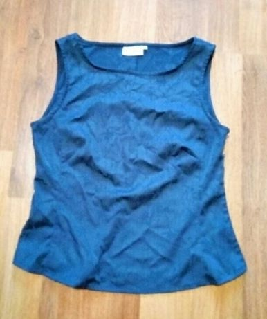 Блузка синяя блуза кофточка женская, р. 42-44