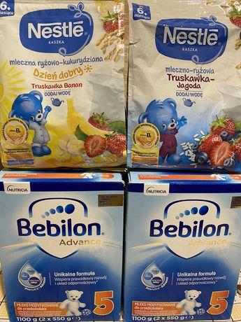 Mleko bebilon Advanse 5 1100 g - 2 opakowania + prezent