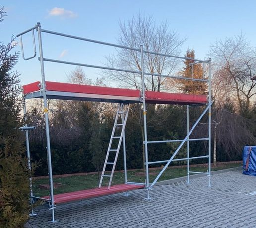 Rusztowanie ramowe Typ PLETTAC (37,80m2)