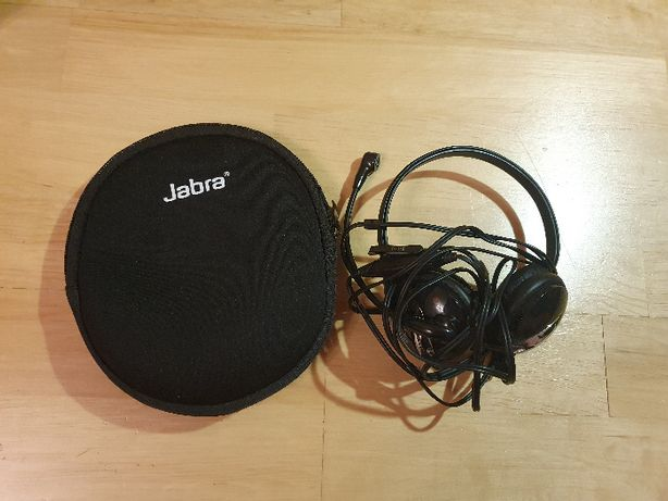 Słuchawki Plantronics Z Mikrofonem Przewodowe USB Etui Czarne Super