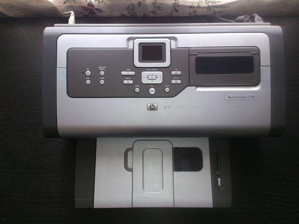 Принтер HP photosmart 7760 (без картриджей), набор чернил Ink Tec