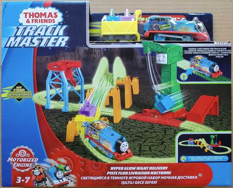 Томас и друзья: Светящаяся в темноте Железная дорога. Thomas Оригинал