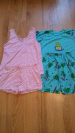 Piżamki dwu częściowe dla nastolatki