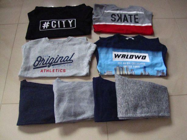 Bluzy spodnie zestaw rozm 146-152
