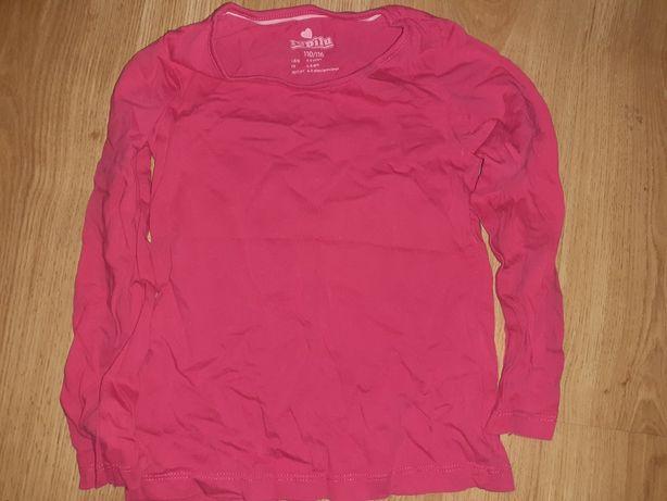 Różowa bluzka na długi rękaw lupilu r. 110/116