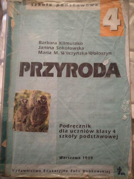 Przyroda Barbara Klimuszko, Janina Sokołowska. wyd.Żak