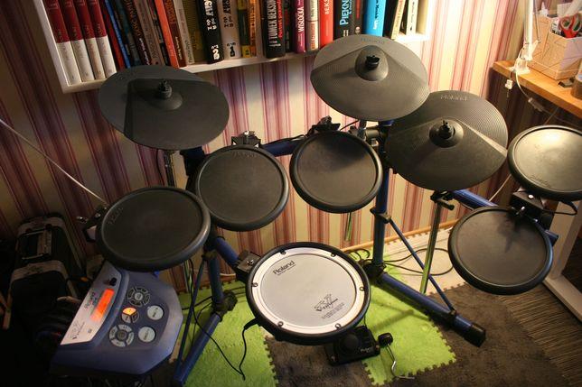 Perkusja elektroniczna Roland TD-6 rozbudowany zestaw