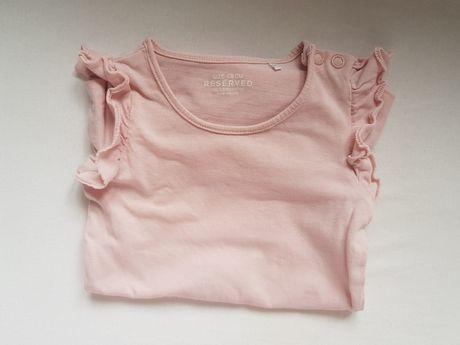 Body Reserved falbanki różowe