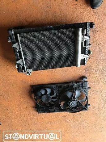 Radiador água / Ar condicionado e Termoventilador VW Golf IV 1.9 Tdi
