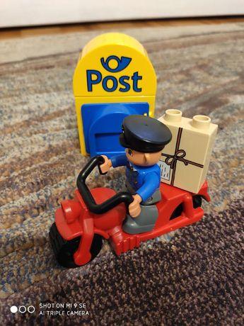 Lego Duplo - Listonosz na motorze i poczta (5638)