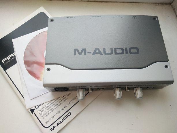 Звуковая карта внешняя M-audio Firewire Solo Дефект