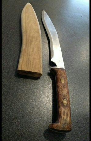 Nóż stal kwasowa ręcznie robiony