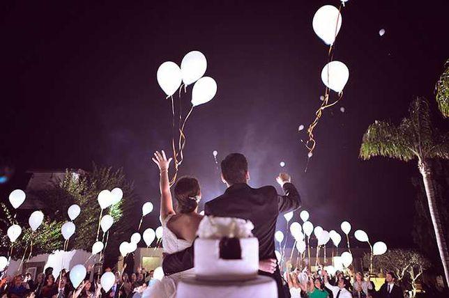 Largada de balões/ Led/ decoração de balões