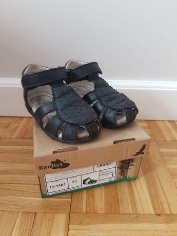 Sandały RENBUT r 21 skóra naturalna