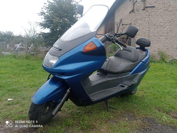Yamaha YP250 majesty zarejestrowany