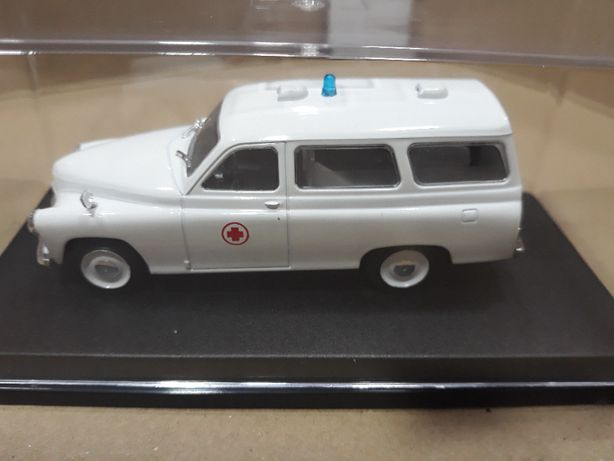 Ambulância miniatura escala 1/43