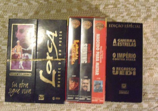 Coleções de VHS de Luxo-Kubrick -Guerra das Estrelas-Lorca