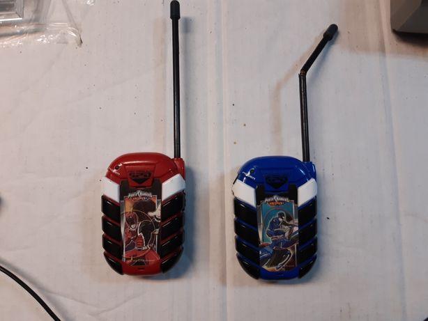 Walkie Talkies dos Power Rangers