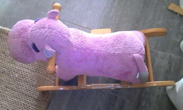 Hipopotamo tipo baloiço
