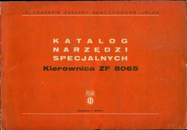 Katalog narzędzi specjalnych kierownica ZF 8065 78 rok