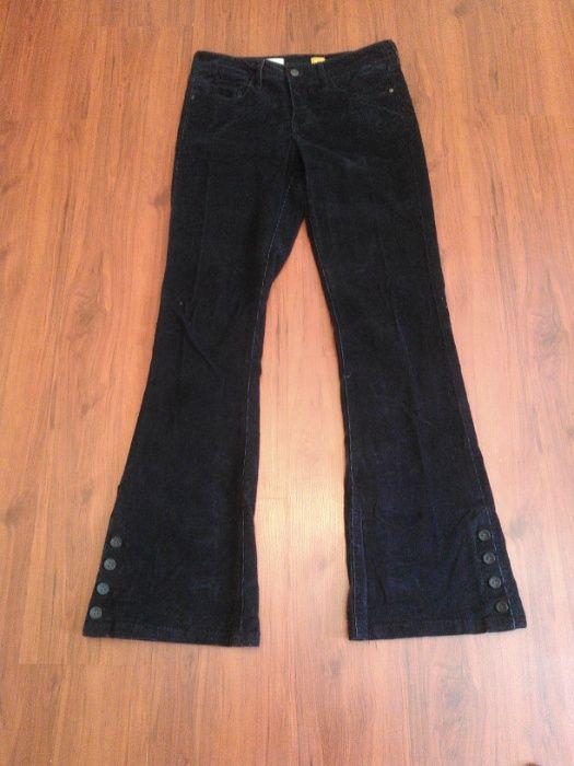 Ретро джинсы микро вельветовые стиль 70-80 годов Новые не second hand Стаханов - изображение 1