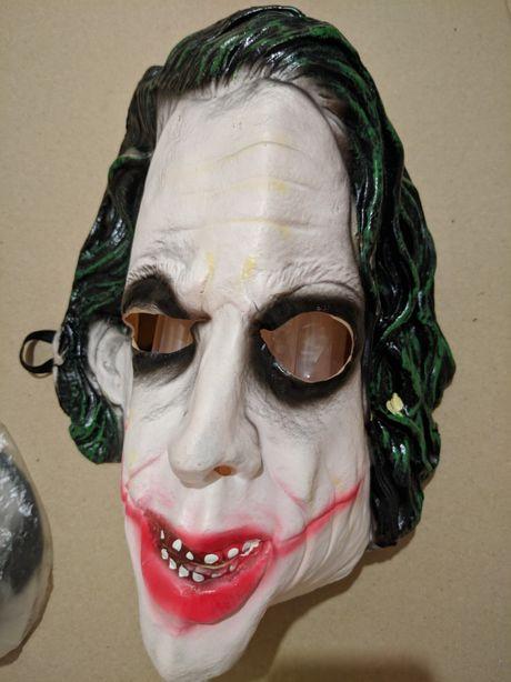 Маска  карнавал хэллоуин Halloween Джокер