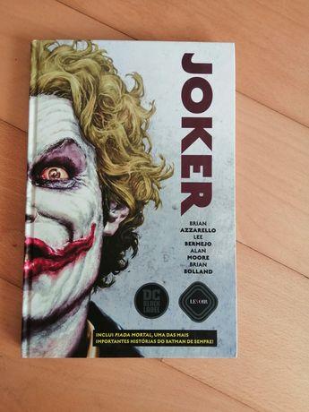 Joker de Brian Azzarello, Lee Bermejo, Alan Moore e Brian Bolland