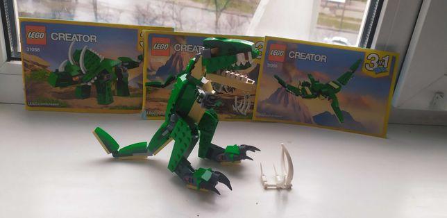 Конструктор LEGO Creator Грозные динозавры 3 в 1 (31058)