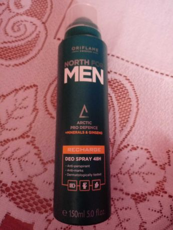 Antyperspiracyjny dezodorant w sprayu North for Men Recharge 48h