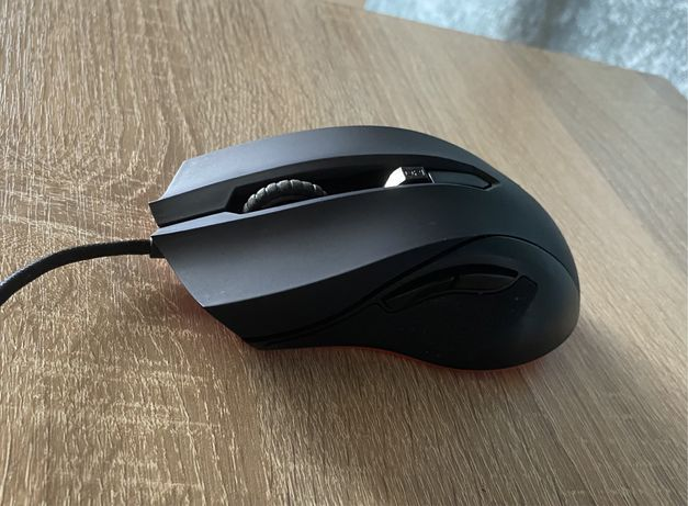 Мышь проводная игровая Asus ROG Cerberus USB чёрная