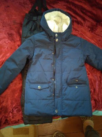 Куртка 2в1 теплая!