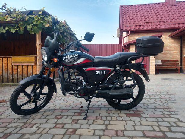 sparta sd 124 мотоцикол