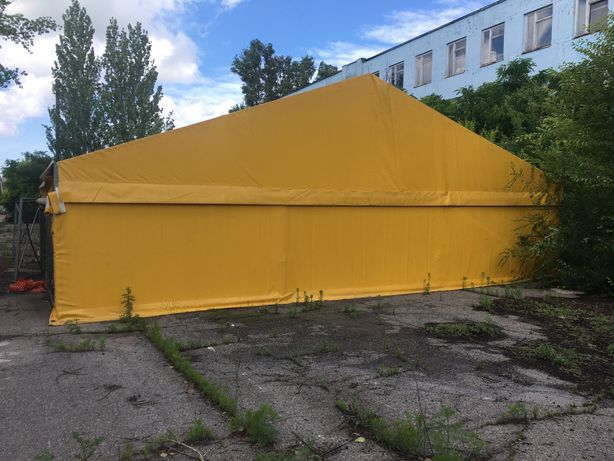 Продам шатёр ангар 10х15 м.