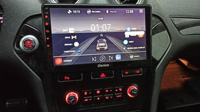 Duże 10 cali Radio Nawigacja Android Ford Mondeo Mk4 - Ownice