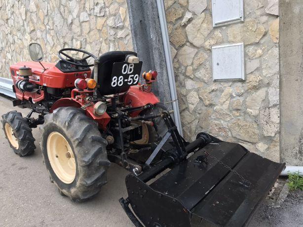 Trator yanmar 20 cv 4x4 Q com matricula