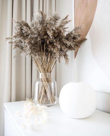 Пампасная трава очерет камыш декор сухоцвет