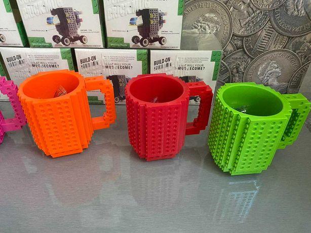 чашка кружка LEGO