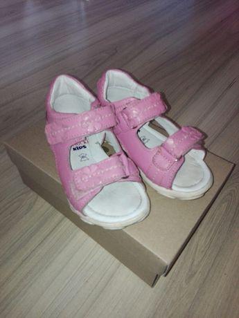 Skórzane sandały buty 22 Lasocki kids, buty dziewczynka 22